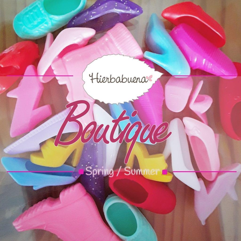 Hierbabuena barbie boutique sapatos saldos