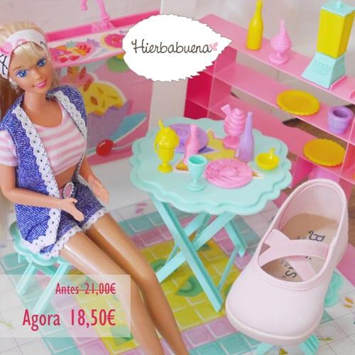 Hierbabuena mercedita rosa ballet saldos -blog