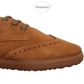 Hierbabuena Sapatos Oxford castanhas puntera Outlet AW2018