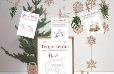 Composición Navidad Calendario de adviento